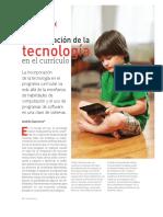 Tecnologia y Curriculo