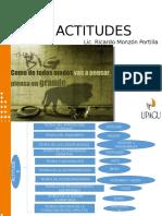 Las Actitudes en Las Org.