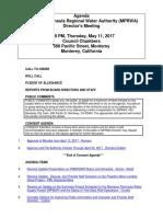 MPRWA Agenda Packet 05-11-17