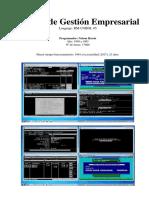 Sistema Gestión Empresarial en RM-COBOL 85 (por Nelson J. Ressio)