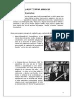 Arquitectura Aplicada - Trabajo 01 UNPRG