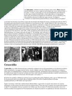 Genocidio Libros Principales y Generales