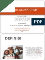 Tetanus Neonatorum Ppt