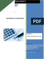 Tarea Virtual 3 Matematica Financiera