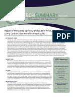 Ts_552 Repair of Morganza Spillway Bridge Bent Pile Cap Using Carbon Fiber Reinforcement (CFR)