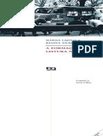 A Formação Da Leitura No Brasil-Marisa Lajolo e Regina Zilberman 3ª.edição