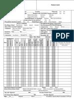 Form Dokumentasi Resusitasi