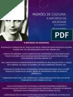 BENEDICT_A NATUREZA DA SOCIEDADE_ PPT por Prof Glauco Ferreira.pdf