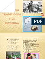 Didáctica Moderna vs Tradicional