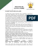 Carta Circular de Dom Nelson Westrupp - Jacareí Aparição -00