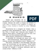 ESTUDO - 8- MANSIDÃO
