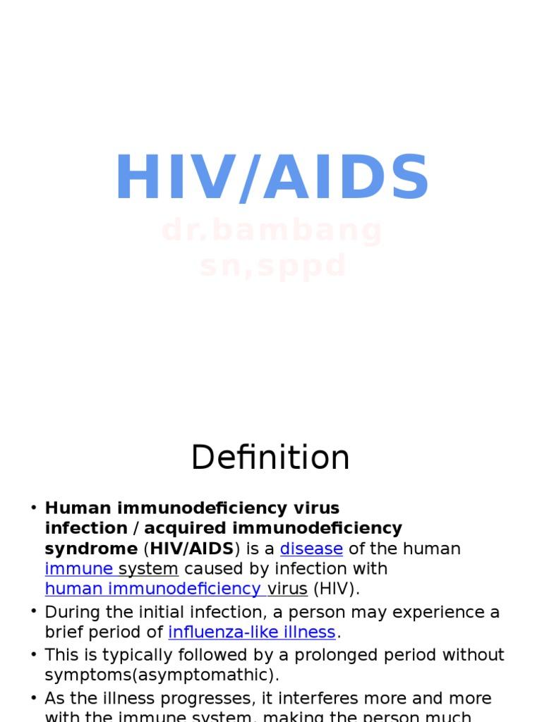 36. hiv aids.pptx | management of hiv/aids | hiv/aids