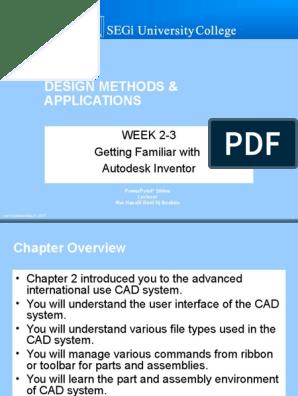 EAT206_Design Methods Applications_Week_2 ppt | Computer