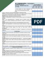 Planificacion Anual Lenguaje 2º Básico