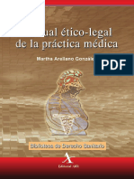 Manual Ético-legal de La Practica Medica