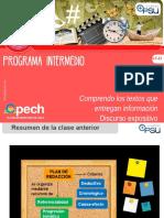 Clase 4 LC 21 Comprendo los textos que entregan información Discurso expositivo 2017 INT.pptx