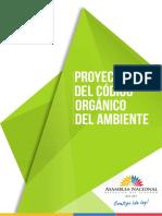 Proyecto Del Código Orgánico Del Ambiente