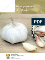 Production Guide - Garlic