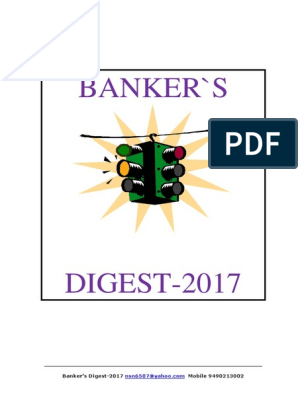 Bankers Digest 2017 Transaction Account