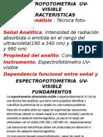 ESPECTROFOTOMETRIA UVVISIBLE.ppt