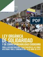 Ley Orgánica de Solidaridad y de Corresponsabiidad Ciudadana