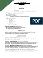 lhendler  e-portfoilio resume