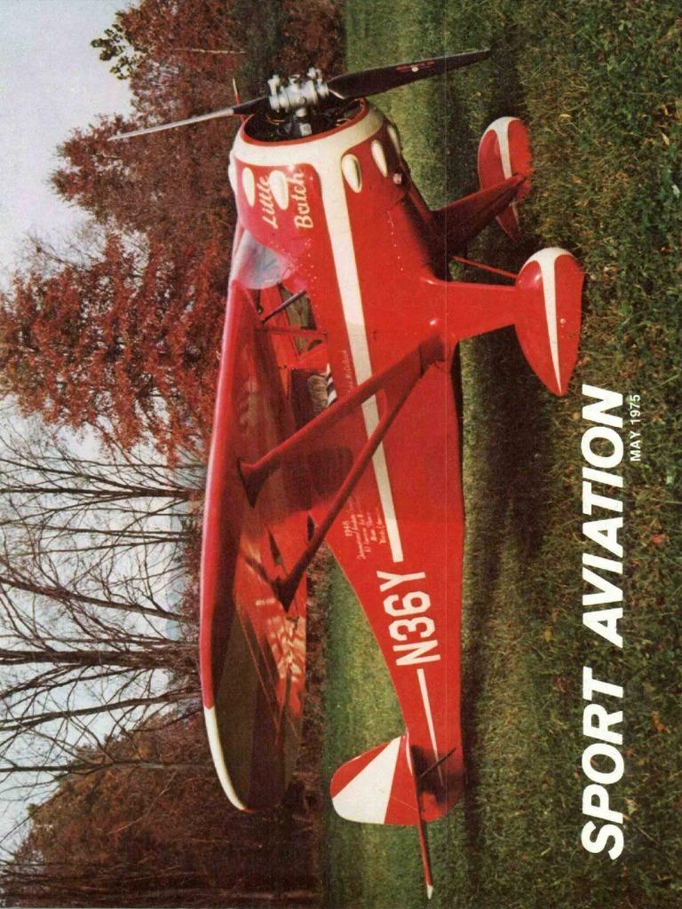Sport Aviation Mai-1975 | Experimental Aircraft Association | Air Traffic  Control