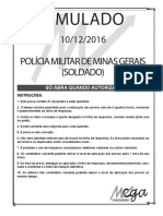 Simulado_PMMG - Soldado