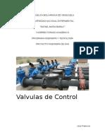 Valvulas de Control - Grupo 2 - Instrumentacion