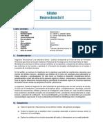 Silabo Neurociencia II 2014
