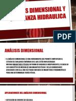 Análisis Dimensional y Semejanza Hidraulica