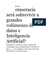 Big Data Implicaciones Politicas