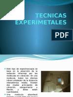 TECNICAS EXPERIMETALES