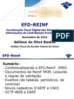Palestra Recife EFD Reinf Completa
