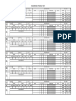 Strike Group Sheet