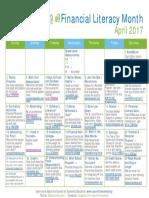 Fin Lit Calendar 2017