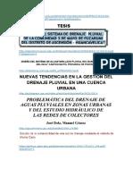 bibliografia para sistemas de drenaje pkuvial