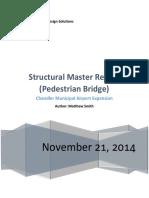 2 Pedestrian Bridge Master Report