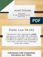 special schools ss
