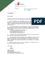 BCA Advisory Note 1 09 ERSS