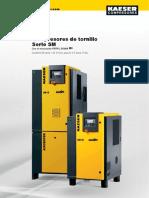Compresores de Tornillo Serie SM Kaeser