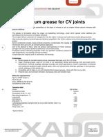XADO Grease for CV Joints En