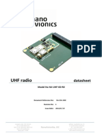 UHF Radio NanoAvionics Rev0