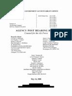 Public Redacted Version AF Post Hearing Brief