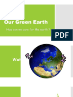 our green earth
