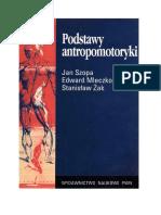 Podstawy Antropomotoryki Szopa, Mleczko, Żak