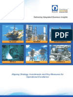 Aligning Strategy, Investments and Key Measures for Operational Excellence