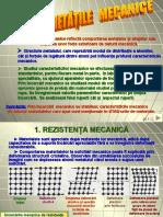 3.2. Proprietatile Mecanice