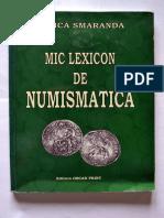 Aurica Smaranda -Mic Lexicon de Numismatica