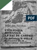 Dan Gh Teodor- Civilizatia Romanica La Est de Carpati Sec v -VII -Asezarea de La Botosana Suceava
